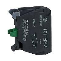 ZBE101 Блок-контакт 1Н0 для светосигнальной арматуры Schneider electric серий XB4 и XB5