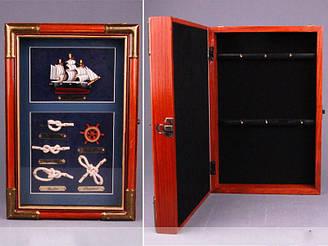 Ключниця Lefard Морські вузли 30 см 271-102