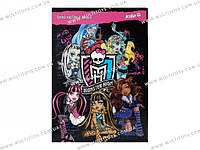 Картон белый Monster High и др.герои