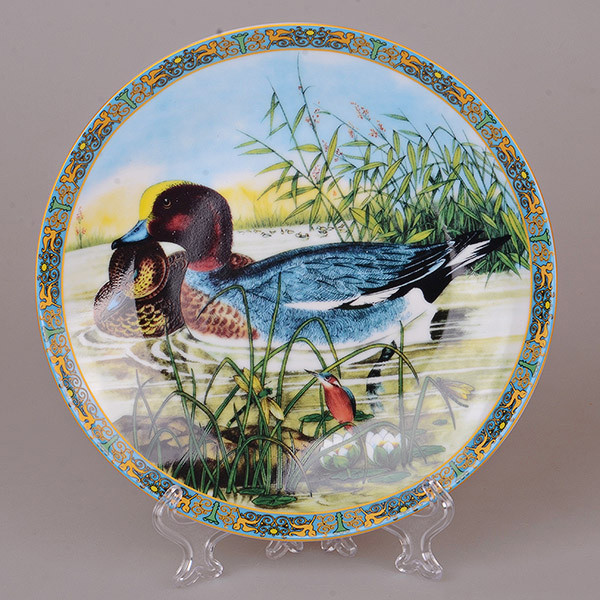 Декоративная тарелка Lefard Утки 20 см 921-0021