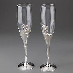 Свадебные бокалы Veronese 2 шт  1001G