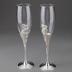 Весільні келихи Veronese 2 шт 1001G