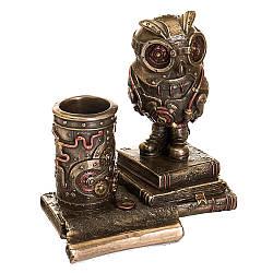 Статуетка-підставка для ручок Veronese Сова 13х13 см 77491A4