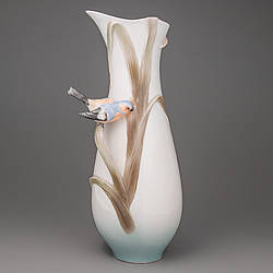 Ваза Unicor Studio Птичка на ветке 31 см 20301
