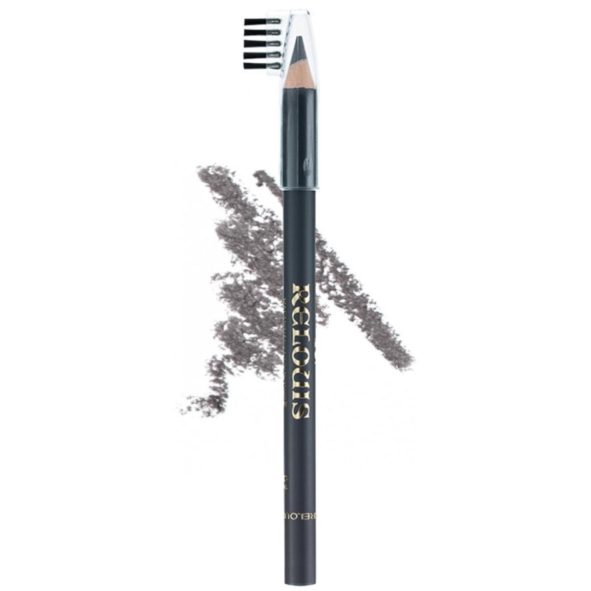 Олівець для брів з щіточкою Relouis № 02 Темно-сірий 1.13 р