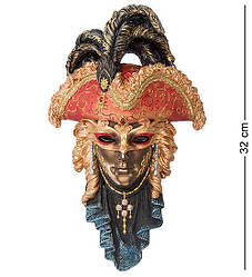 Статуетка Veronese Венеціанська маска 32 см 1902254