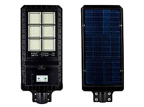 Уличный светильник FOYU 120Вт LED фонарь на солнечной батарее с датчиком движения свечение 12ч метал