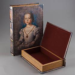 Книга-шкатулка Veronese из 2 шт Наследница 33х22х7 см 012U