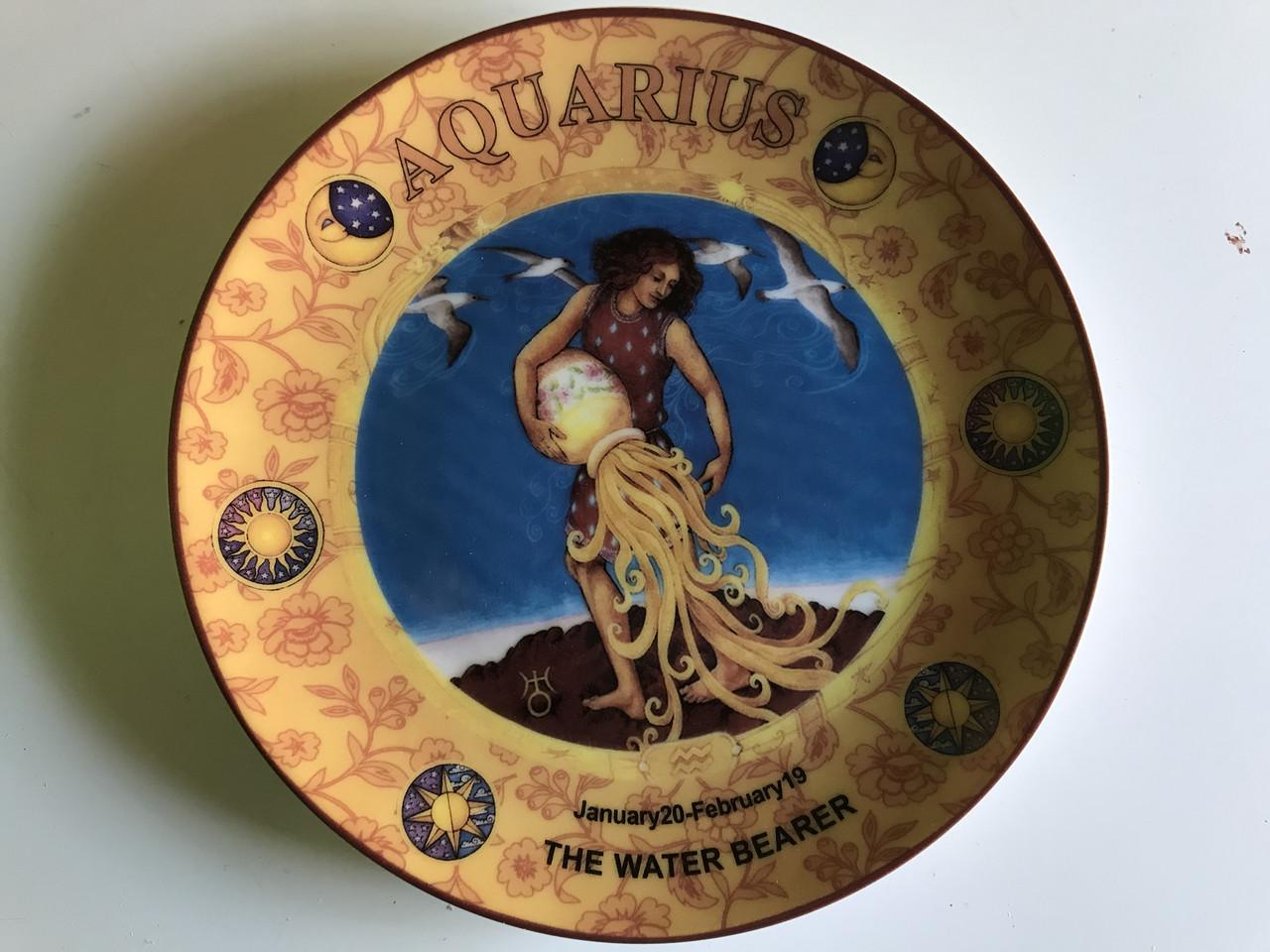 Тарелка декоративная Lefard Водолей 20 см 86-345