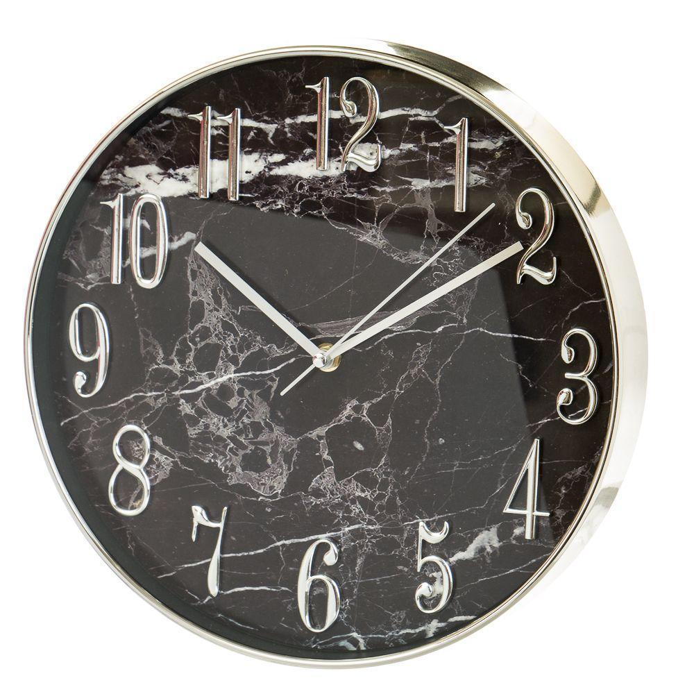 Часы настенные Veronese Мраморный 30 см 12003-020