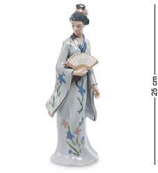 Статуэтка фарфоровая Pavone Японка 25 см 1105746