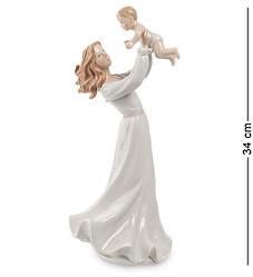 Статуэтка фарфоровая Pavone Мама с ребенком 34 см 1103198