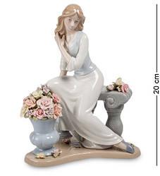 Статуэтка фарфоровая Pavone Девушка 20 см 1103202