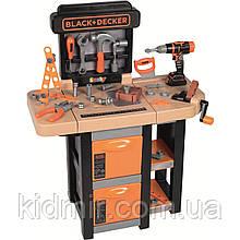 Верстат Мобільна майстерня з інструментами Black Decker Smoby 360315