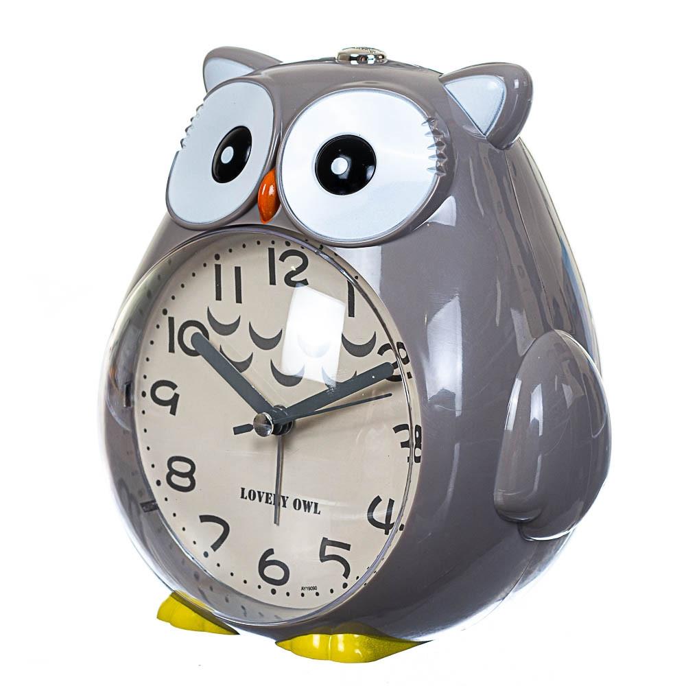 Часы будильник Lefard Сова 15х15х11 см 12008-002-A