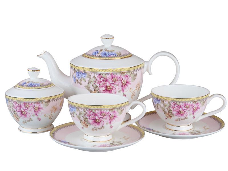 Чайний набір Lefard Джессіка на 14 предметів 264-630