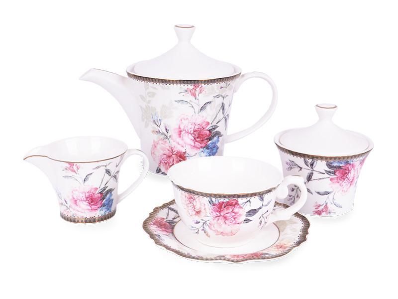 Чайный набор Lefard Камелия на 15 предметов 935-005