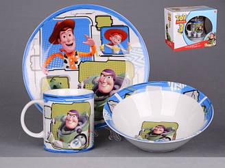 Набір дитячого посуду Lefard Історія іграшок 3 предмета 39-125