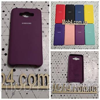Брендовий чохол накладка Silicone Cover для Samsung Galaxy (Самсунг) J710