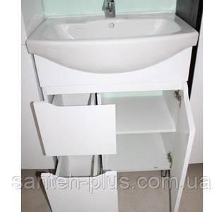 Тумба для ванной комнаты Висла Т4 с умывальником Изео-65