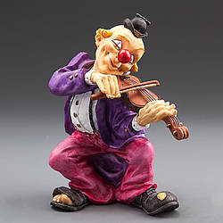 Статуетка Veronese Клоун зі скрипкою 19 см 66953 CB