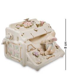 Статуэтка фарфоровая музыкальная Pavone Мышка за печатной машинкой 8 см 1103219