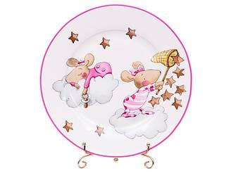 Набор тарелок из 2-х штук Lefard Девочки мышки 19 см 924-488