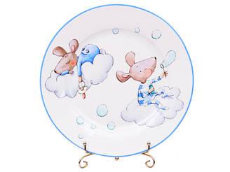 Набір тарілок з 2-х штук Lefard Хлопчики мишки 19 см 924-489