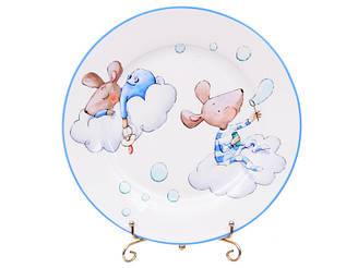Набор тарелок из 2-х штук Lefard Мальчики мышки 19 см 924-489