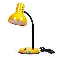 Настільна лампа патрон Е27 LOGA колір соняшник