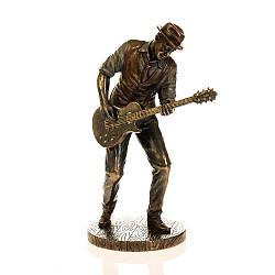 Статуэтка Veronese Гитарист Роберт Лерой Джонсон  20 см 77180 (1)