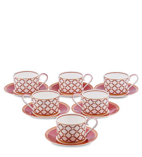 Чайный сервиз Pavone Элегантность 12 предметов 1451465