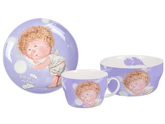 Набор детской посуды GAPCHINSKA WITH ALL MY HEART 3 предмета 924-711