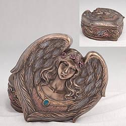 Шкатулка Veronese Сердце Ангела 15 см 73742