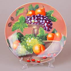 Декоративна тарілка Lefard Фрукти 20 см 921-003(4)