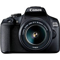 Фотоаппарат Canon EOS 2000D kit (18-55mm) DC