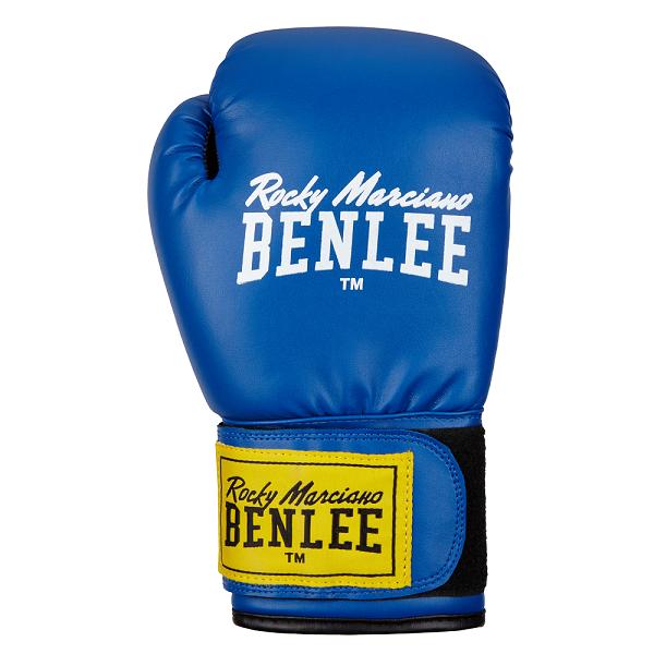 Перчатки боксерские Benlee RODNEY 12oz /PU/сине-черные