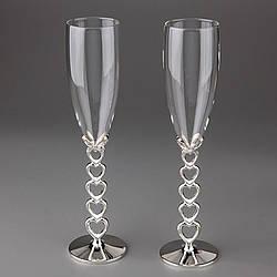 Свадебные бокалы Veronese 2 шт  1009G