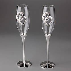 Свадебные бокалы Veronese 2 шт  1006G