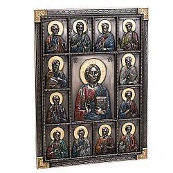 Икона Veronese Мозаика Святых 23х30 см 77623A4