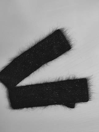 Митенки   YUANG MENG 20102 черный, фото 2