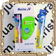Зубная щетка Meile-A Elasticity & Clean 12 шт./уп. № 906