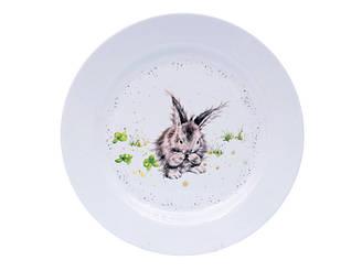 Тарілка сервірувальна Lefard Кролик 25 см 358-909