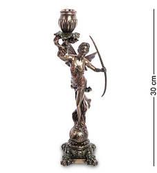 Статуэтка подсвечник Veronese Диана-богиня охоты  30 см 1906302