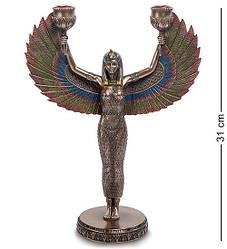 Статуэтка-подсвечник Veronese Исида - богиня материнства и плодородия  31 см 1903005