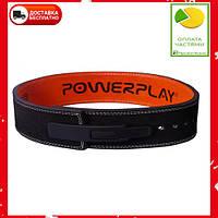 Пояс для важкої атлетики PowerPlay 5175 Чорно-Оранжевий XL, фото 1