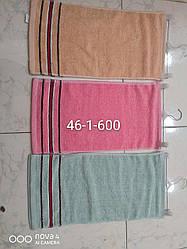 Кухонное полотенце три полоски махра размер 25*50 20 шт в уп.