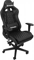 Игровое кресло Bonro 1018 черное 40700008
