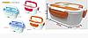 Ланч бокс с подогревом Ланч бокс электрический 0,6л и 0,45л пищевой контейнер с подогревом, фото 6