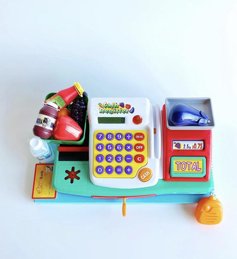 Игровой набор кассовый аппарат Keenway со звуками. Детская касса